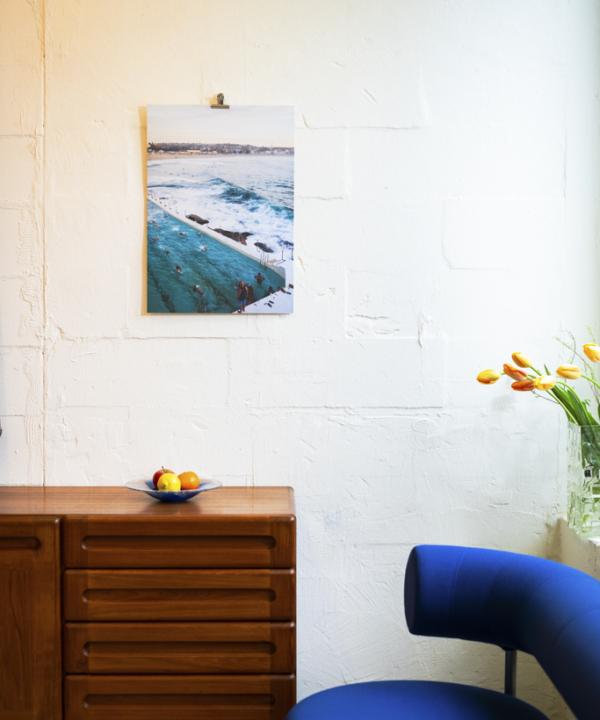 """""""Bondi Beach"""" Poster: Ankerwechsel-Verlag-Limitierter-Fotodruck-Ain't-No-Trash-Studio"""