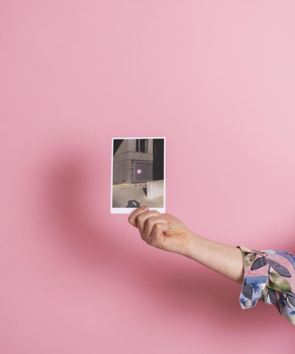 Ankerwechsel-Verlag-Postkarte-Luftballon-Pink