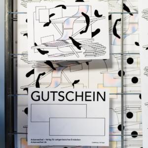 Ankerwechsel-Gutschein-Indie-Publishing-Online-Shop-Tali-Bayer frisch gedruckt auf dem Gitter