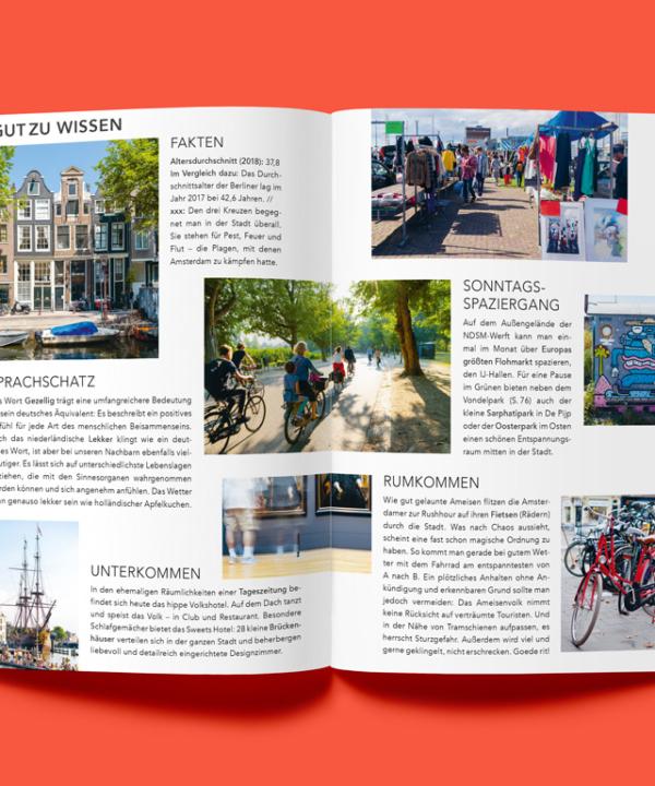 Hallo-Amsterdam-Gathershop-Reiseführer-Ankerwechsel-Verlag auf rotem Hintergrund